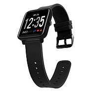 Часы спортивные JETIX FitPro с GPS трекером - (Black), фото 4