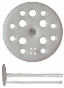 Дюбель для кріплення теплоізоляції 10 х 160, пластиковий цвях, Преміум ціна за 100 шт.