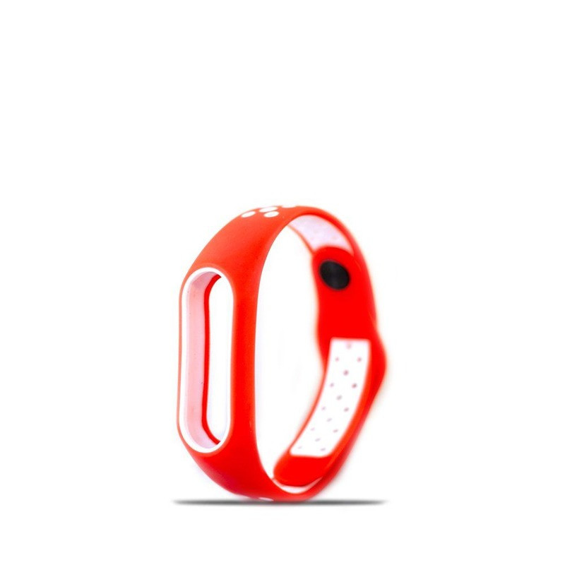 Ремешок Xiaomi Mi Band 2 Sport (Red & White)