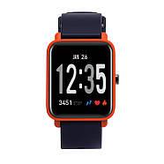 Часы спортивные JETIX FitPro с GPS трекером  (Black-Orange), фото 3