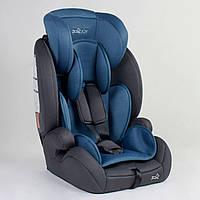 Детское автокресло JOY 25525 Синие, система ISOFIX, группа 1/2/3, от 9-36 кг