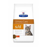 ХИЛЛС Prescription Diet s/d Urinary Care для кошек курицей 5 кг/Hill's