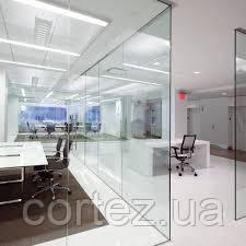 Стеклянные офисные перегородки open space