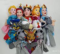 Кукольный театр 12 кукол + большая ширма (149*67*55см)