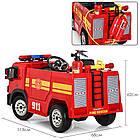 Детский электромобиль Пожарная машина M 4051EBLR-3, фото 6
