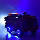 Детский электромобиль Пожарная машина M 4051EBLR-3, фото 5