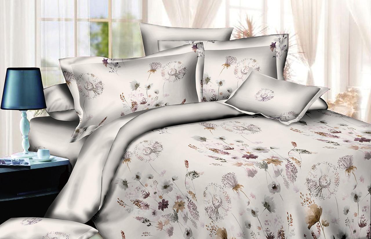 Двуспальный комплект постельного белья евро 200*220 хлопок  (13749) TM KRISPOL Украина