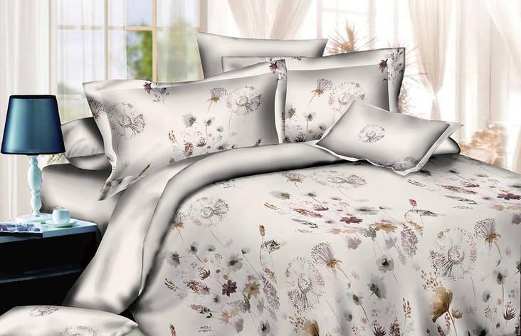 Двуспальный комплект постельного белья евро 200*220 хлопок  (13749) TM KRISPOL Украина, фото 2