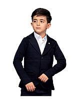 Трикотажный пиджак на мальчиков 116,128,134,140 роста Buci
