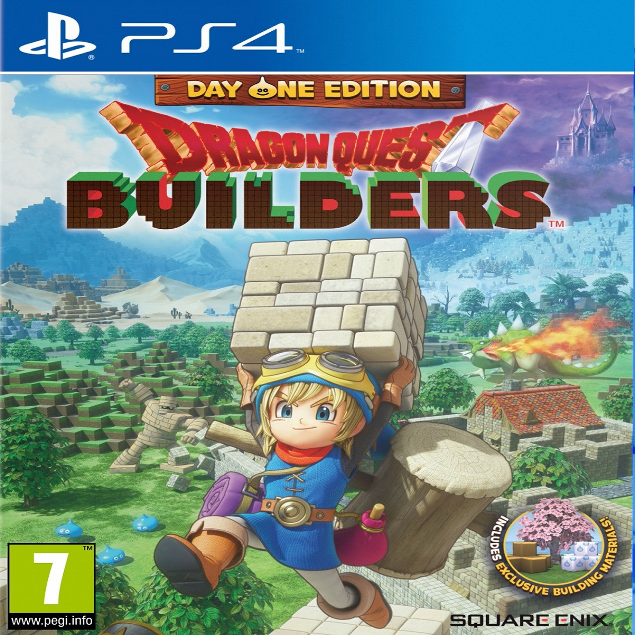 Dragon Quest Builders Day one edition ENG PS4