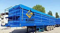 Тентовая накидка из ткани ПВХ  на кузов длиной до 12,5 м шириной до 2,55 м с комплектом для установки, фото 1
