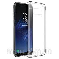 Прозрачный силиконовый чехол для Samsung S8 Plus