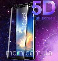 Защитное стекло 5D для смартфонов Samsung S8 plus
