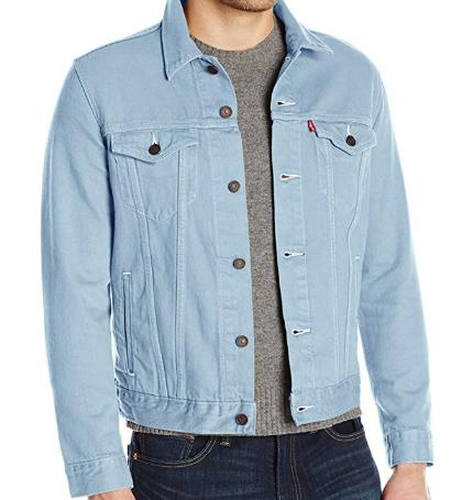 Джинсовая куртка Levis Trucker - Sky Blue