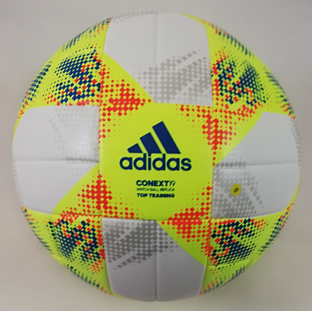 М'яч футбольний Adidas Conext 19 Top Training DN8637