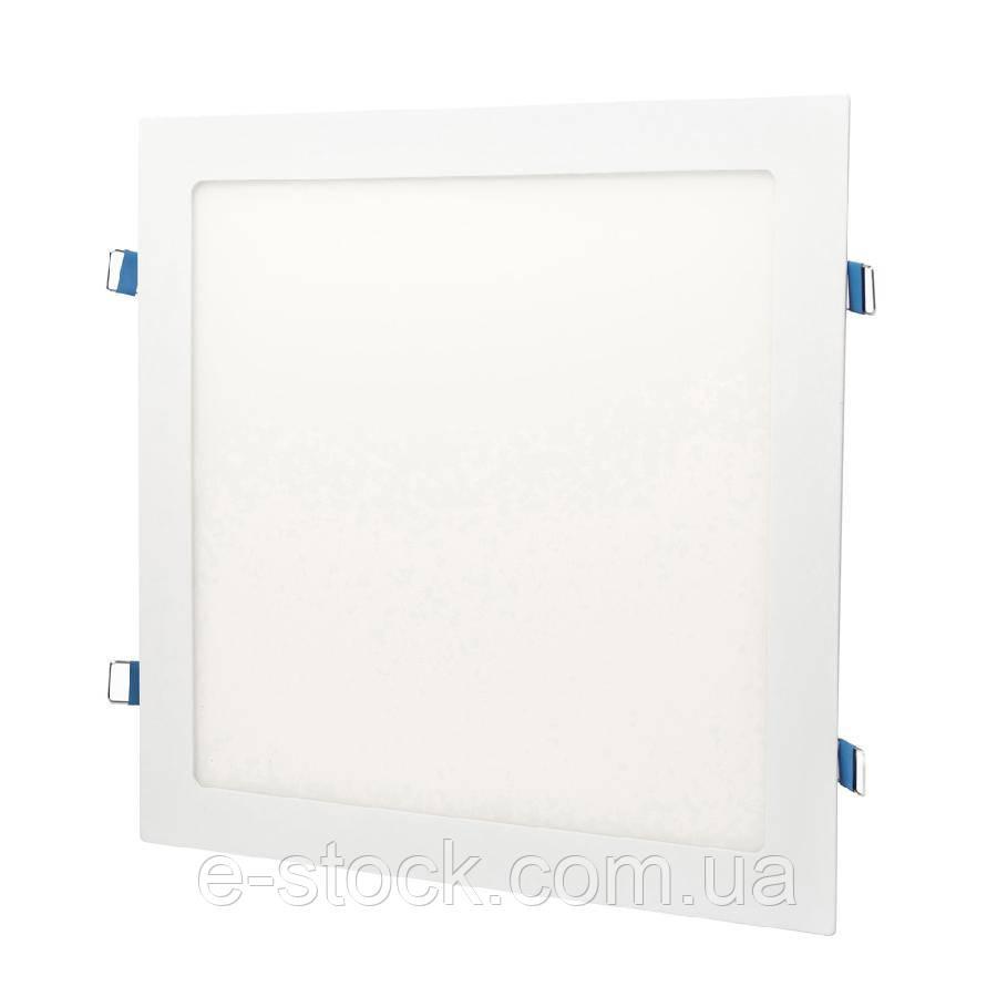 Светильник точечный врезной ЕВРОСВЕТ 18Вт квадрат LED-S-225-18 6400К