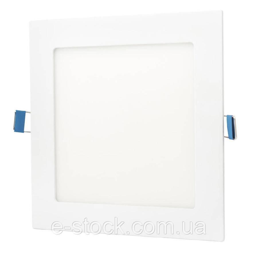 Светильник точечный врезной ЕВРОСВЕТ 6Вт квадрат LED-S-120-6 4200К