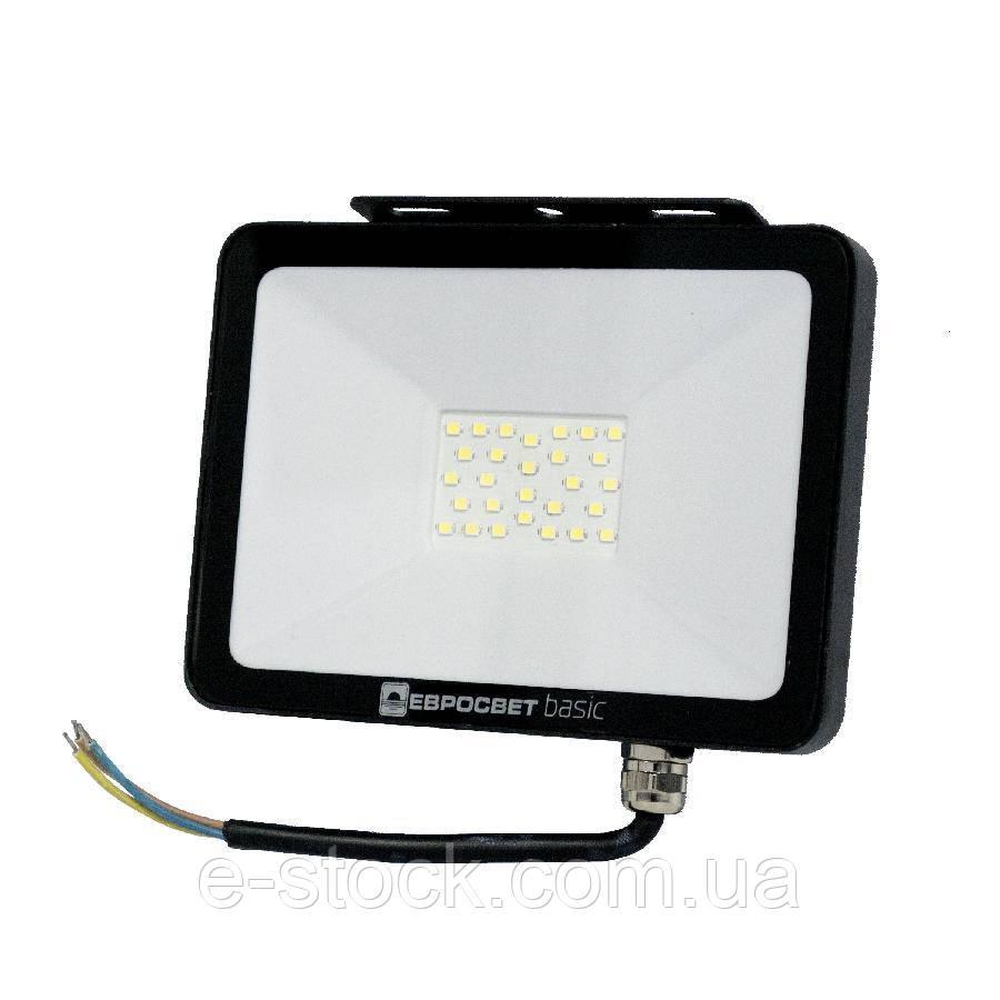 Прожектор світлодіодний ES-50-504 BASIC-XL 2750Лм 6400К