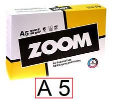 Офісний папір Zoom 80 г/м2 клас С - А 5