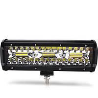 Фара LED, 36W, 5000K, 10-30В, планка, балка, додаткове світло, робоче світло, протитуманки AX-TR140W
