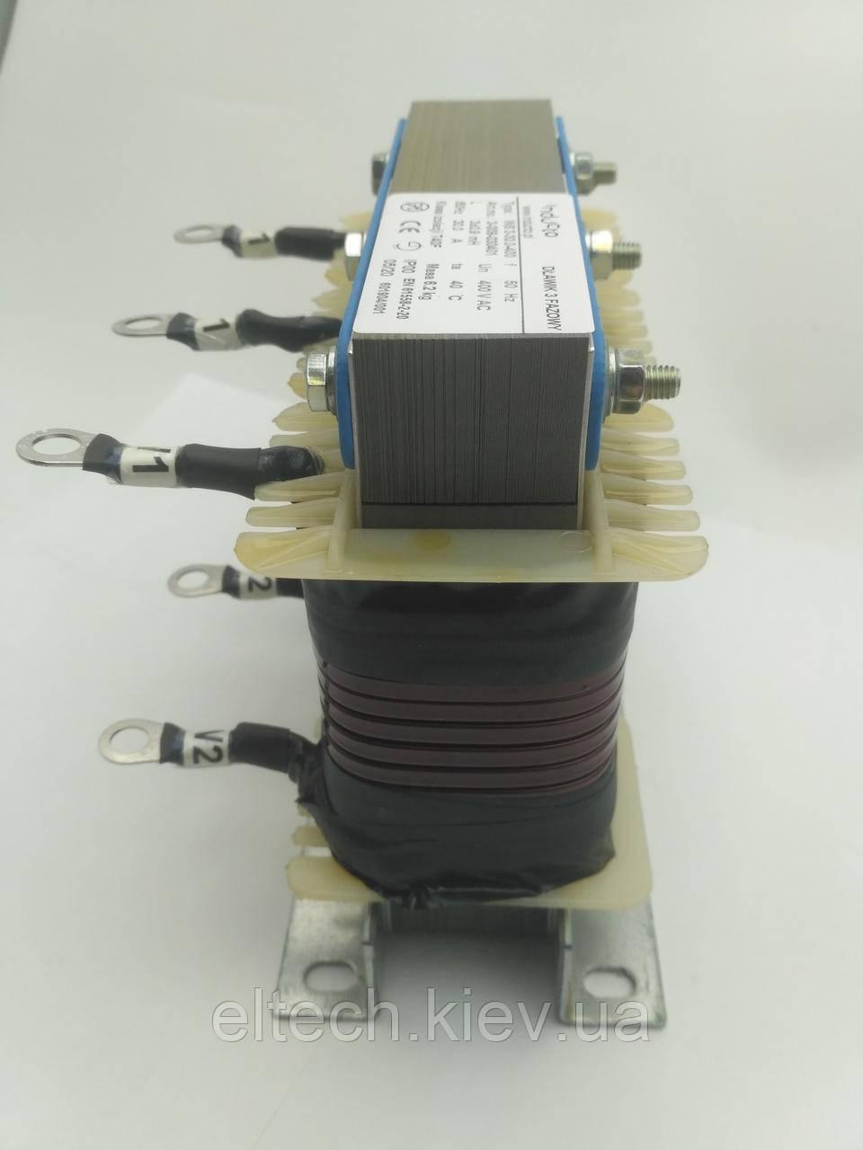 INS 3-30-400; 30А, трехфазный сетевой дроссель 4%
