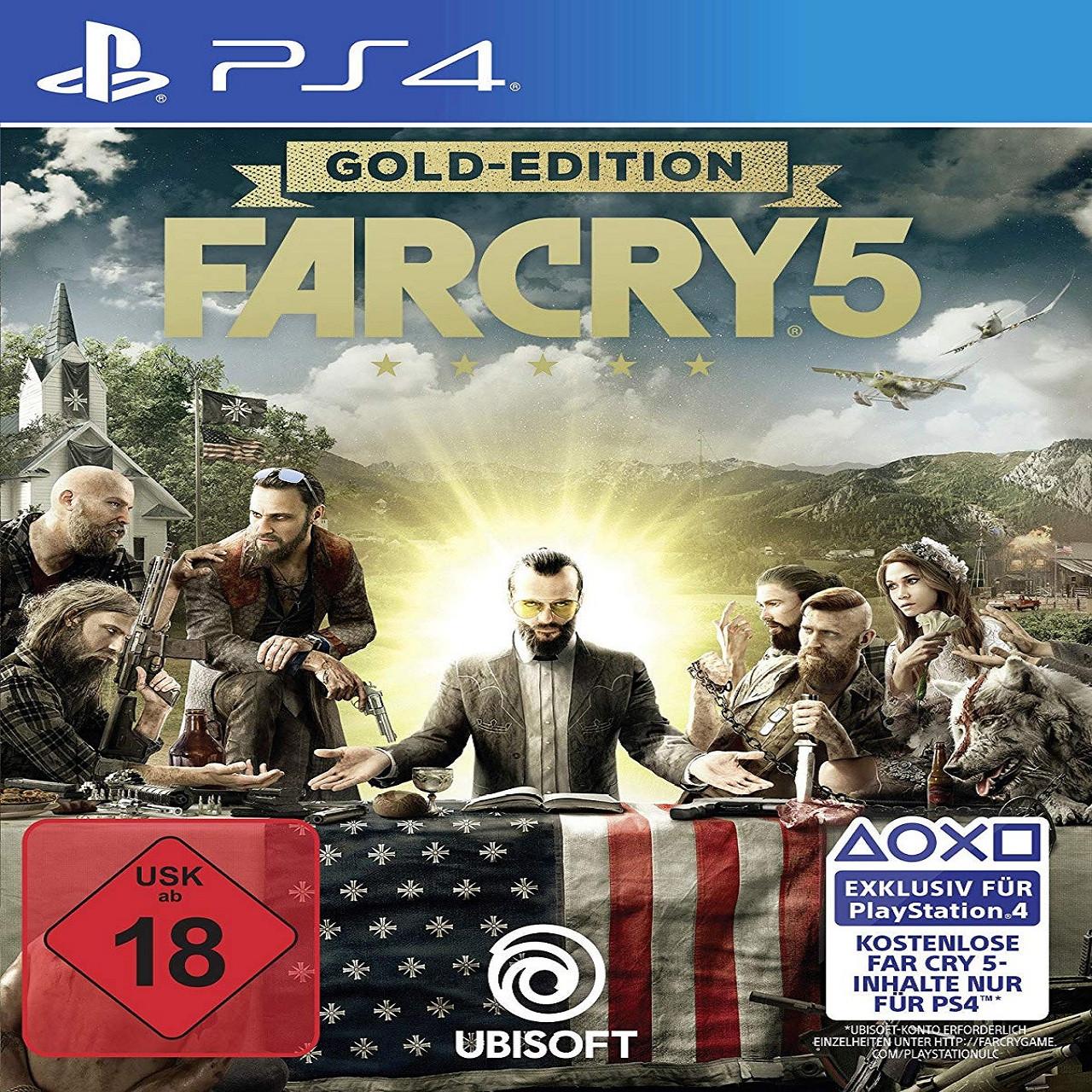 Far Cry 5 Gold Edition (російська версія) PS4