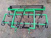 Культиватор КН-1.4П пружинный с катком для минитрактора, фото 1