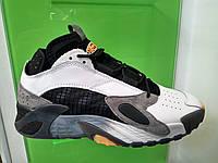 Мужские кроссовки Adidas Street Ball White Black Gray
