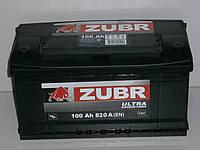 Аккумулятор Zubr Ultra (Зубр) 100 Ah  820 А, фото 1