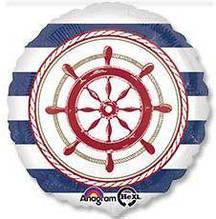 "Фольгована кулька коло морська 18"" Anagram"