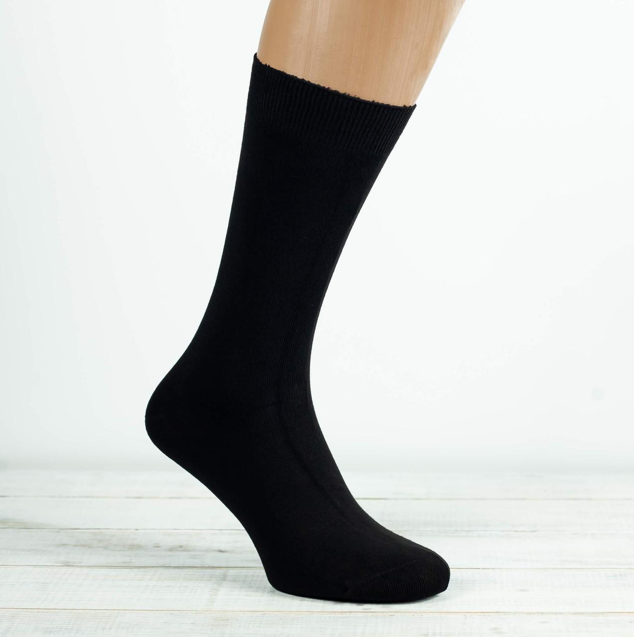 Чоловічі носки шкарпетки стрейчеві Z&N високі бамбук антибактеріальний продукт 39-41 41-44 12 шт в уп