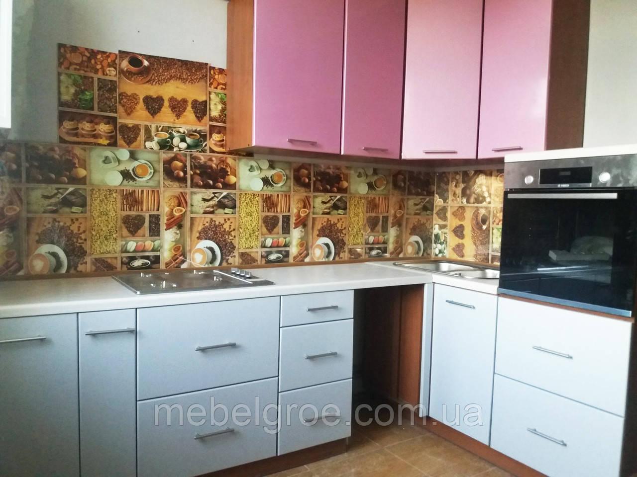 Кухня угловая Альфа длина 2.8мх1,6м
