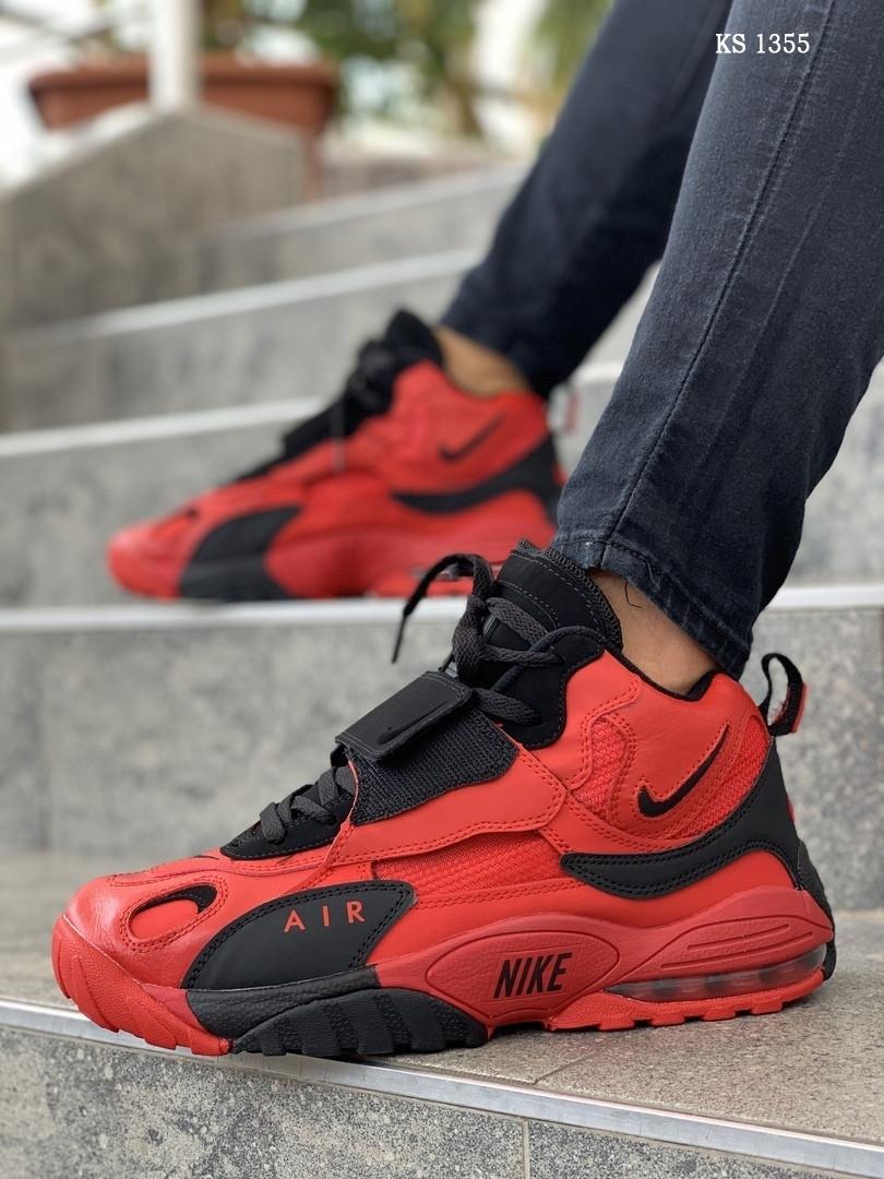 Мужские кроссовки Nike Sportswear Air Max Speed Turf (красные) KS 1355