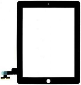 Сенсор (тачскрин) Apple iPad 2 A1395, A1396, A1397 черный