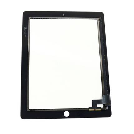 Сенсор (тачскрин) Apple iPad 2 A1395, A1396, A1397 черный, фото 2