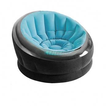 Велюр кресло 66582 ( Голубой 66582(Blue) )
