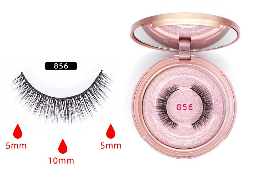 Магнитные ресницы на 5 магнитов Magnetic Eyeliner & Eyerlashes 856