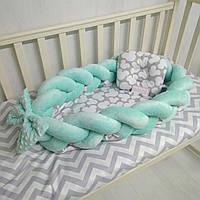 Кокон – гнездышко коса-позиционер для новорожденных Тм Миля