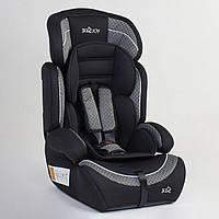 Детское автокресло JOY 49779 Черный с серым, группа 1/2/3, от 9-36 кг