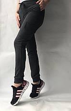Спортивные брюки с накладными карманами N° 125 темно-серый, фото 3