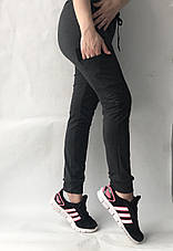 Спортивные брюки с накладными карманами N° 125 темно-серый, фото 2