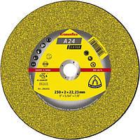Круг відрізний 230 x 2,0 x 22 Klingspor Kronenflex A 24 Extra