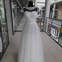 Легкое Воздушное Свадебное Платье цвета Айвори