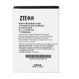 Аккумулятор АКБ ZTE LI3712T42P3h634445 для ZTE Blade L110   V815W   Blade G (3.7V 1200mAh) Оригинал Китай