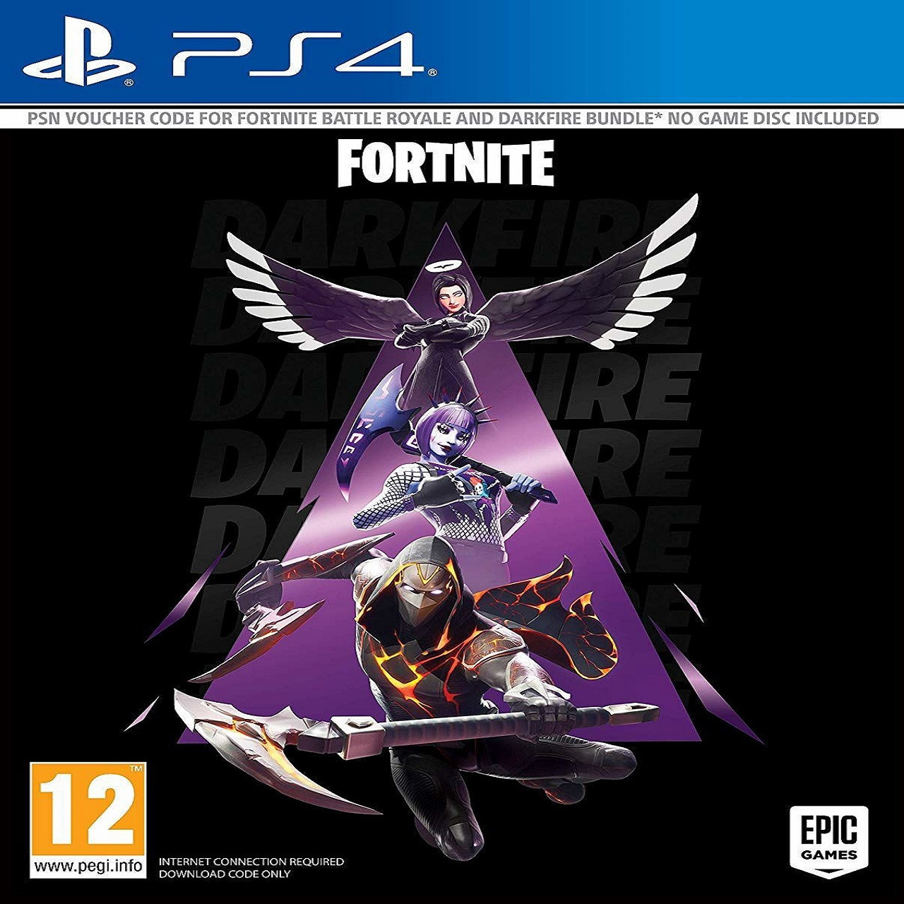 Fortnite - Darkfire Bundle RUS PS4 (КОД)