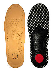 Стельки для обуви ортопедические Кожаные