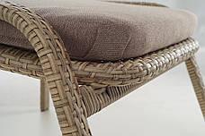 Кресло Лэйзи высокое ротанг, фото 2