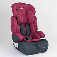 Детское автомобильное кресло JOY 86732 Малиновый, группа 1/2/3, от 9-36 кг