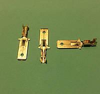 Клемма ножевая 6,3 мм папа, упаковка 50 шт.