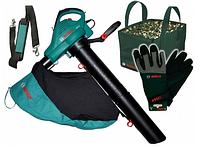 Садовый пылесос BOSCH ALS 25 + перчатки + сумка